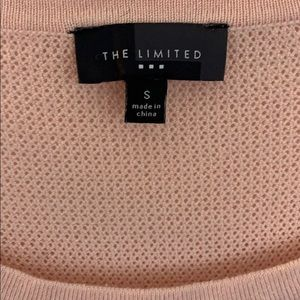 The Limited Tops - PRETTY LIMITED BLUSH SUMMER MESH SWEATER 💕